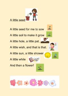 Interactive worksheet A spring poem