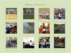 Ficha interactiva Places in your school