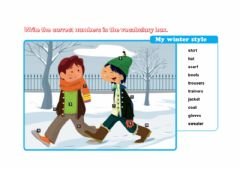 Interactive worksheet My picture dictionary page 13