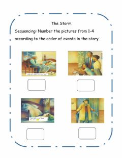 Interactive worksheet The Storm Post Reading Activity