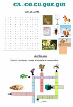 Interactive worksheet Ca-co-cu-que-qui