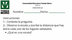 Interactive worksheet Escalas