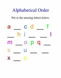 Ficha interactiva The Alphabet