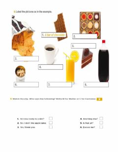 Interactive worksheet Ready to order
