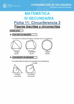 Interactive worksheet Circunferencia 2