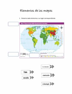 Interactive worksheet Espcio geografico