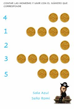 Interactive worksheet Conteo de monedas