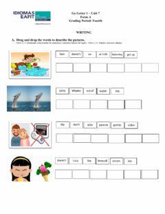 Interactive worksheet Midterm - Writing - Go Getter 1