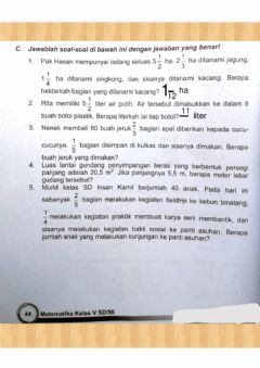 Interactive worksheet Latihan pts 1 part 3