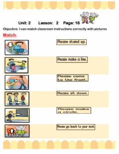 Interactive worksheet Classroom instructios