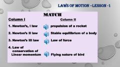 Ficha interactiva Laws of motion