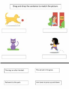 Interactive worksheet Picture Context Clues Worksheet