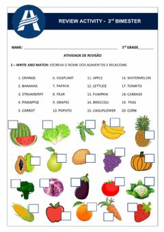 Interactive worksheet Review Activity - Unit 3 3rd Grade