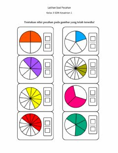 Interactive worksheet Latihan Soal Pecahan