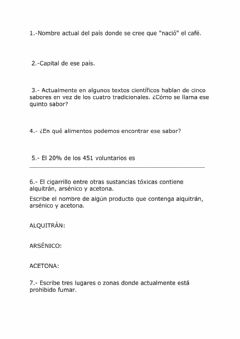 Interactive worksheet Lengua castellana