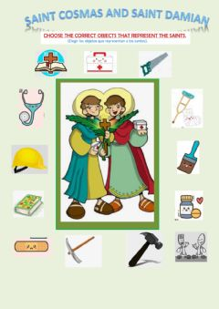 Interactive worksheet Saint Cosmas and Saint Damian