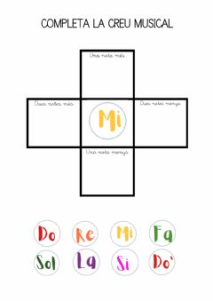 Interactive worksheet Creus musicals