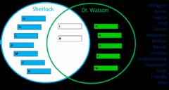Interactive worksheet Comparing Sherlock Holmes' Character with Dr. Watson's