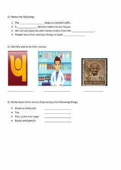 Interactive worksheet Neighbourhood