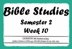 Interactive worksheet Bible Lesson 24 Map Work