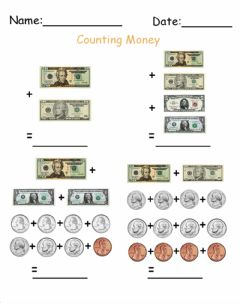 Ficha interactiva Counting Money