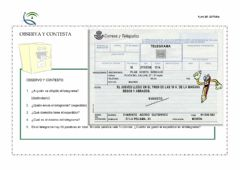 Interactive worksheet Lectura sexto