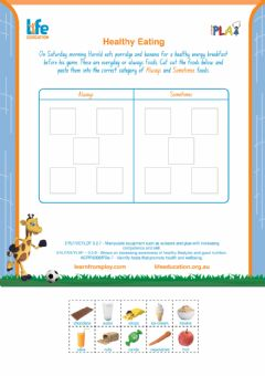 Interactive worksheet Fitness Fun - Healthy Eating