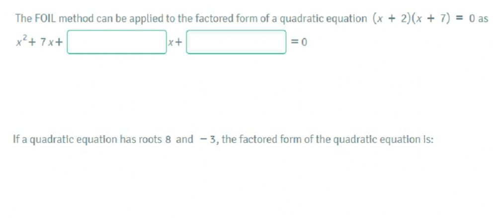 Solving Quadratic Equations By Factoring: Solve Quadratic Equations Using  The Zero Product Property Worksheet