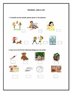 Interactive worksheet Safety