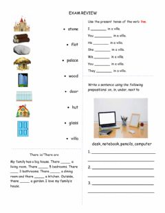 Interactive worksheet G5 Unit 1 Review