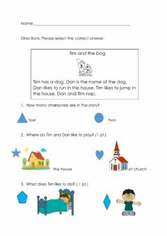 Ficha interactiva Setting Worksheet 2