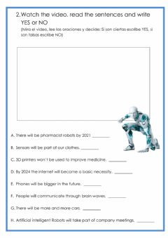 Interactive worksheet On the pulse unit 5