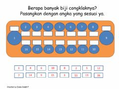 Interactive worksheet Match the Number