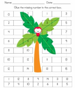 Interactive worksheet What Number Goes Next