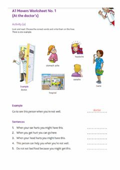 Interactive worksheet Movers classroom activities