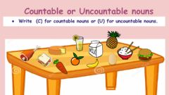 Interactive worksheet Countable and uncountable