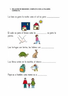 Interactive worksheet Ev inicial Lengua