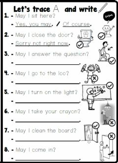 Ficha interactiva 4.1. Classroom Rules - Look and Write.