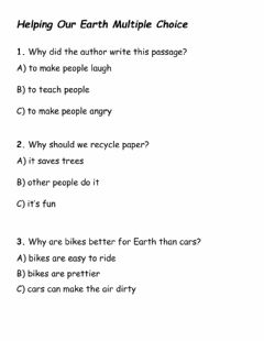 Interactive worksheet Help Our Earth
