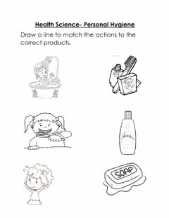 Interactive worksheet Personal Hygiene
