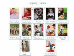 Interactive worksheet Helping hands Vocabulary