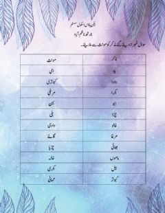 Interactive worksheet مذکر مونث