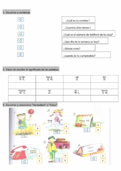 Interactive worksheet CEI 2do Examen 1a