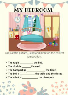 Ficha interactiva Prepositions of place