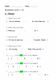 Interactive worksheet 5 Grade.