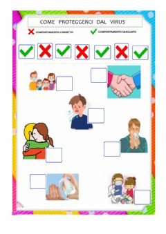 Interactive worksheet Covid