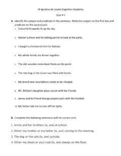 Interactive worksheet Quiz Language 5