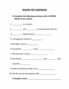 Interactive worksheet Review Test Continued