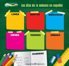 Interactive worksheet Mi semana