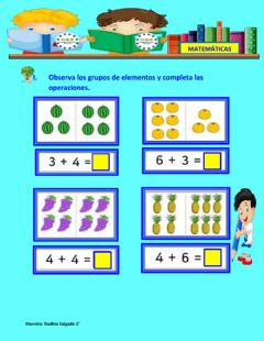 Interactive worksheet Operaciones mixtas.